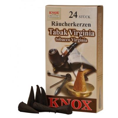 Räucherkerzen  - Tabak Virginia  35g, 24 Stk. Packung