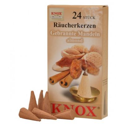 Räucherkerzen  - Gewürze - Mandeln 35g, 24 Stk. Packung