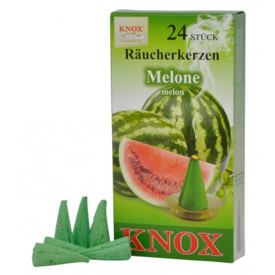Räucherkerzen  -  Melone 35g, 24 Stk. Packung
