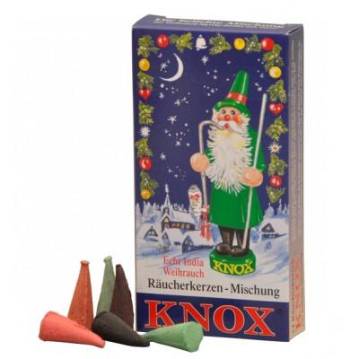Räucherkerzen Weihnachtsmischung 35g, 24 Stk. Packung