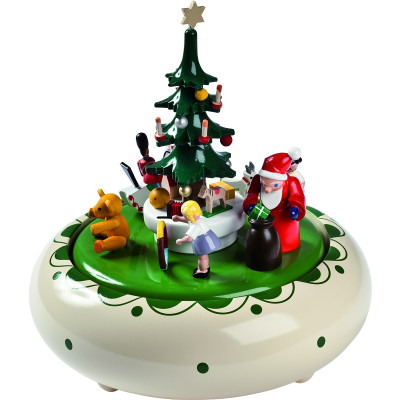 Spieldose Weihnachtsbescherung