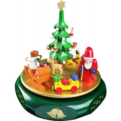 Spieldose Motiv Weihnachtsträume