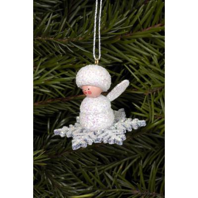 Baumbehang Schneeflöckchen Glimmer