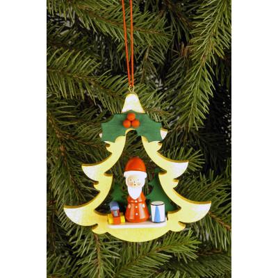 Baumbehang Tanne mit Weihnachtsmann