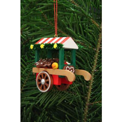 Baumbehang Marktwagen mit Lebkuchen