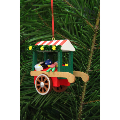 Baumbehang Marktwagen mit Spielzeug