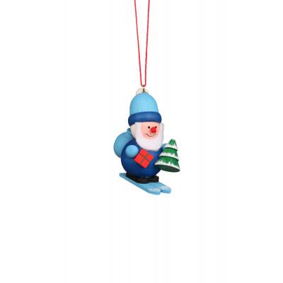 Baumbehang Weihnachtsmann blau