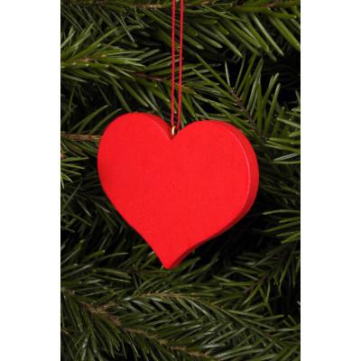 Baumbehang Herz rot