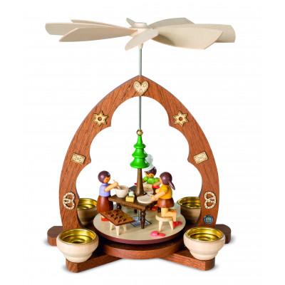 Pyramide Weihnachtsbäckerei Spitzbogen