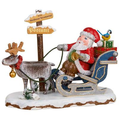Winterkinder Hurra, der Weihnachtsmann kommt