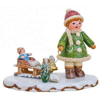Winterkinder Oh, es schneit, es schneit