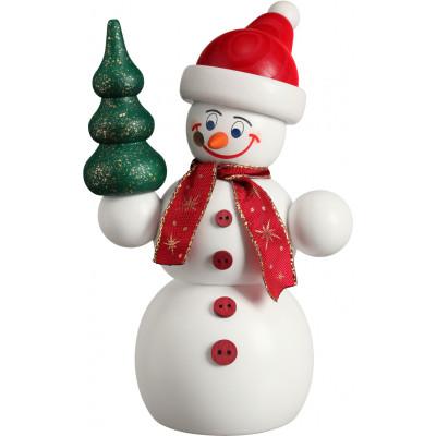 Räuchermann Schneemann Weihnachtsmann