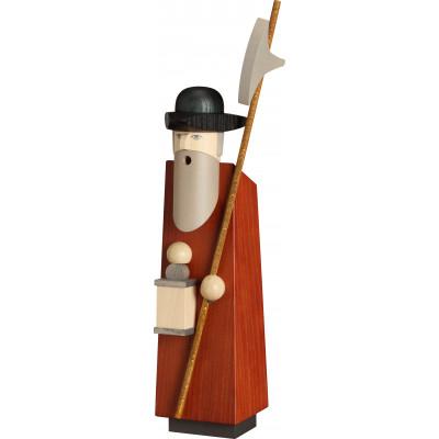 Räucherfigur Kantiger Typ Nachtwächter, 36 cm