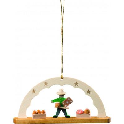 Baumbehang Schwibbogen Pfefferkuchenverkäufer