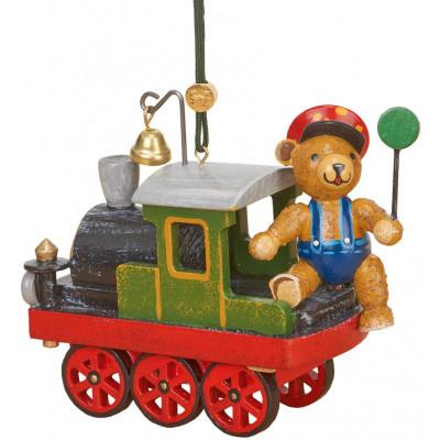 Baumbehang Lok mit Teddy