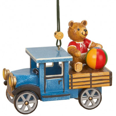 Baumbehang LKW mit Teddy