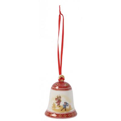 Baumbehang Glocke Schlittenfahrt, 7 cm