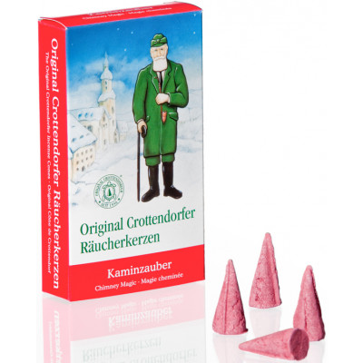 Crottendorfer Räucherkerzen Kaminzauber 24 Stück