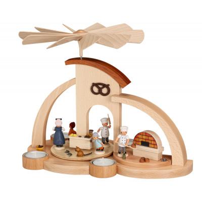 Moderne Teelichtpyramide Bäckerei