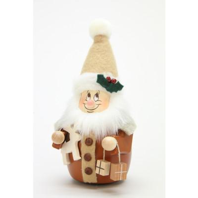 Wackelwichtel Weihnachtsmann natur