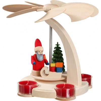 Bogenpyramide Weihnachtsmann, klein