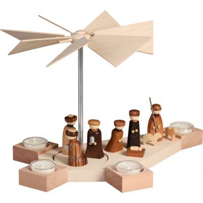 Tischpyramide Octogonum Christi Geburt