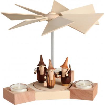 Tischpyramide Hexagonum Gnome