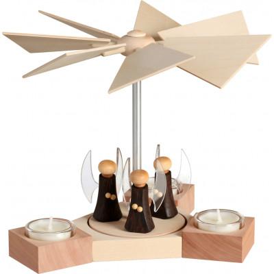 Tischpyramide Hexagonum Engel