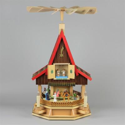 Adventshaus Christi Geburt, elektrisch