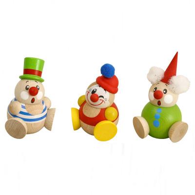 Kugelfigur Cool-Man Clowny, 3-teilig