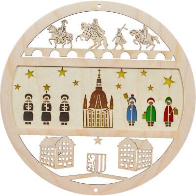 Fensterbild Dresdner Frauenkirche