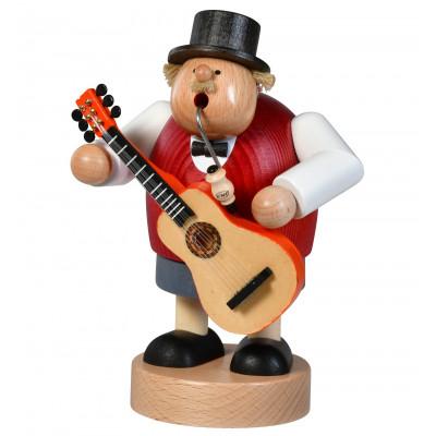 Räuchermännchen Musiker mit Gitarre