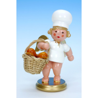 Bäckerengel mit Brotkorb