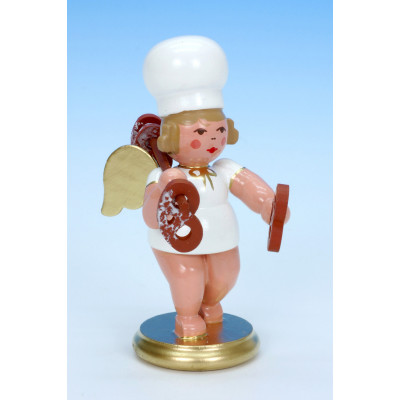 Bäckerengel mit Brezel