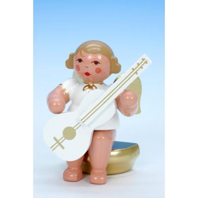 Engel w/g sitzend mit Gitarre