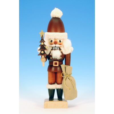 Nussknacker Weihnachtsmann klein natur