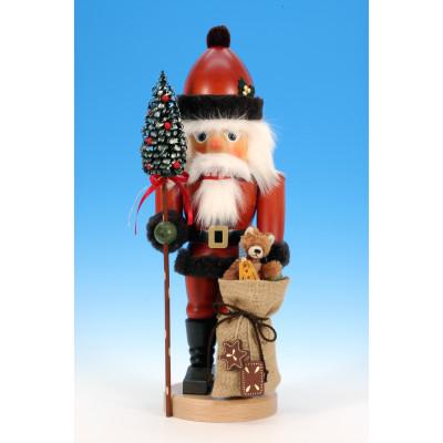 """Ulbricht Nussknacker """"Weihnachtsmann mit Teddy"""