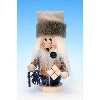 Ulbricht Räuchermännchen Miniwichtel Weihnachtsmann mit Päckchen