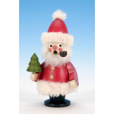 Räuchermännchen Weihnachtsmann mit Pfeife