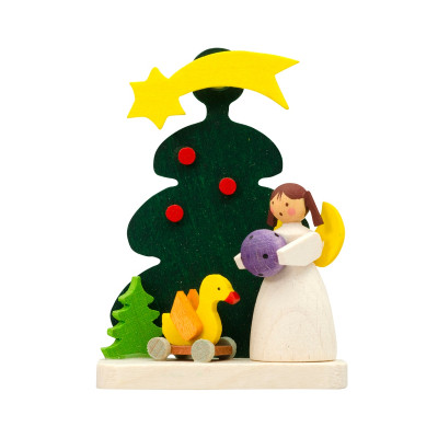 Baumbehang Baum mit Engel mit Ente