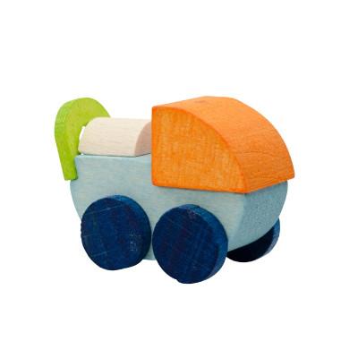 Baumbehang Puppenwagen, blau