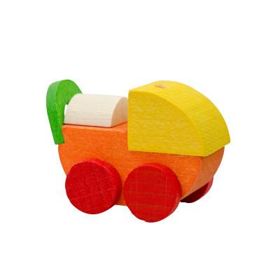 Baumbehang Puppenwagen, orange
