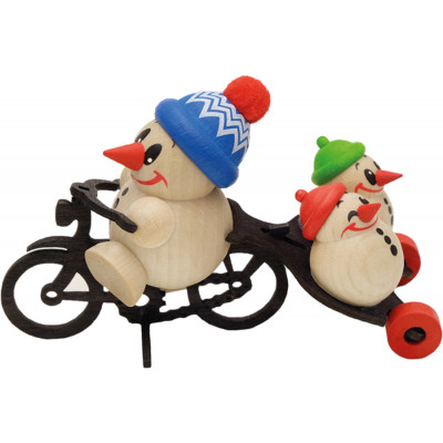 Cool-Man Fahrrad mit Anhang