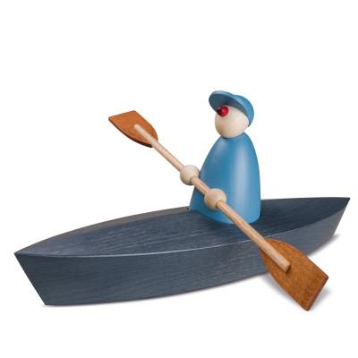 Gratulant Bootspartie, Einer