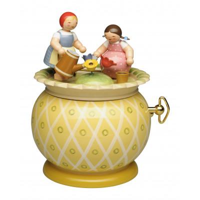 Spieldose Zwei Mädchen