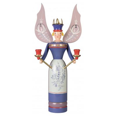 Erzgebirgsengel Lippersdorfer Engel, blau