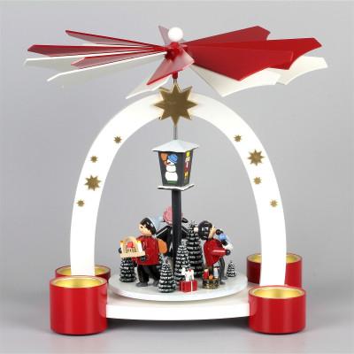 Bogenpyramide Erzgebirgische Weihnacht, limitiert