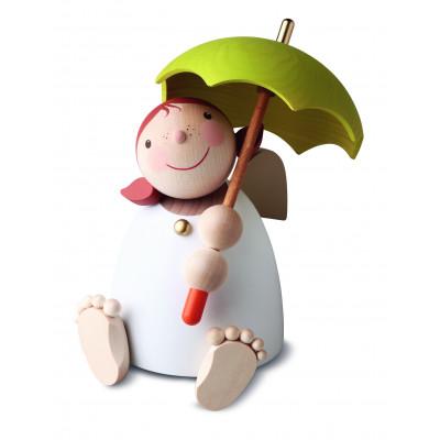 Schutzengel mit Schirm, groß