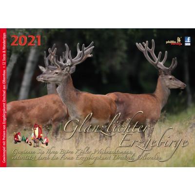 Kalender 2021 Glanzlichter Erzgebirge