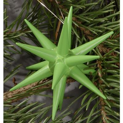 Holzsterne 4-teilig groß - hellgrün